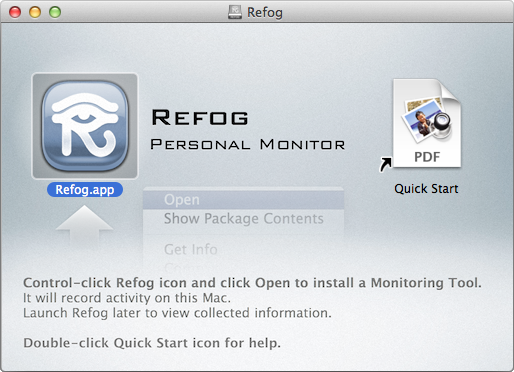 REFOG Personal Monitor for Mac Review And Features Overview