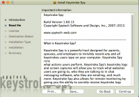 Screenshot #2 di Spytech di Battitura Spia per Mac OS