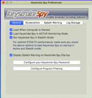 Screenshot #7 di Spytech di Battitura Spia per Mac OS