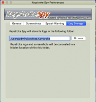 Screenshot #8 di Spytech di Battitura Spia per Mac OS