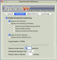Screenshot #9 di Spytech di Battitura Spia per Mac OS