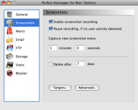 Screenshot #8 of Perfect Keylogger for Mac