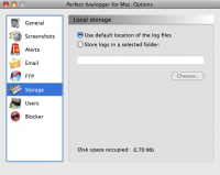 Screenshot #10 of Perfect Keylogger for Mac