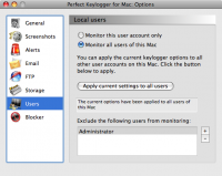 Screenshot #11 of Perfect Keylogger for Mac