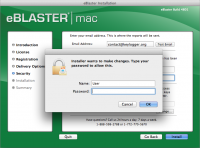 Screenshot #11 di eBlaster per Mac